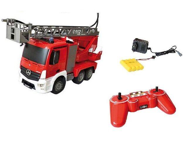 Ferngesteuerter Feuerwehr Mercedes Benz mit Sound und Funktion inkl AKKU NEU