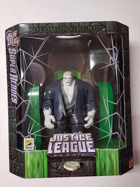 2006 DC Comics SDCC Exclusive SOLOMON GRUNDY Justice League Unlimited New Sealed