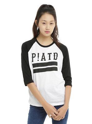 S 3XL L M Juniors Panic XL At The Disco Long Sleeve Shirt NWT XS 2XL