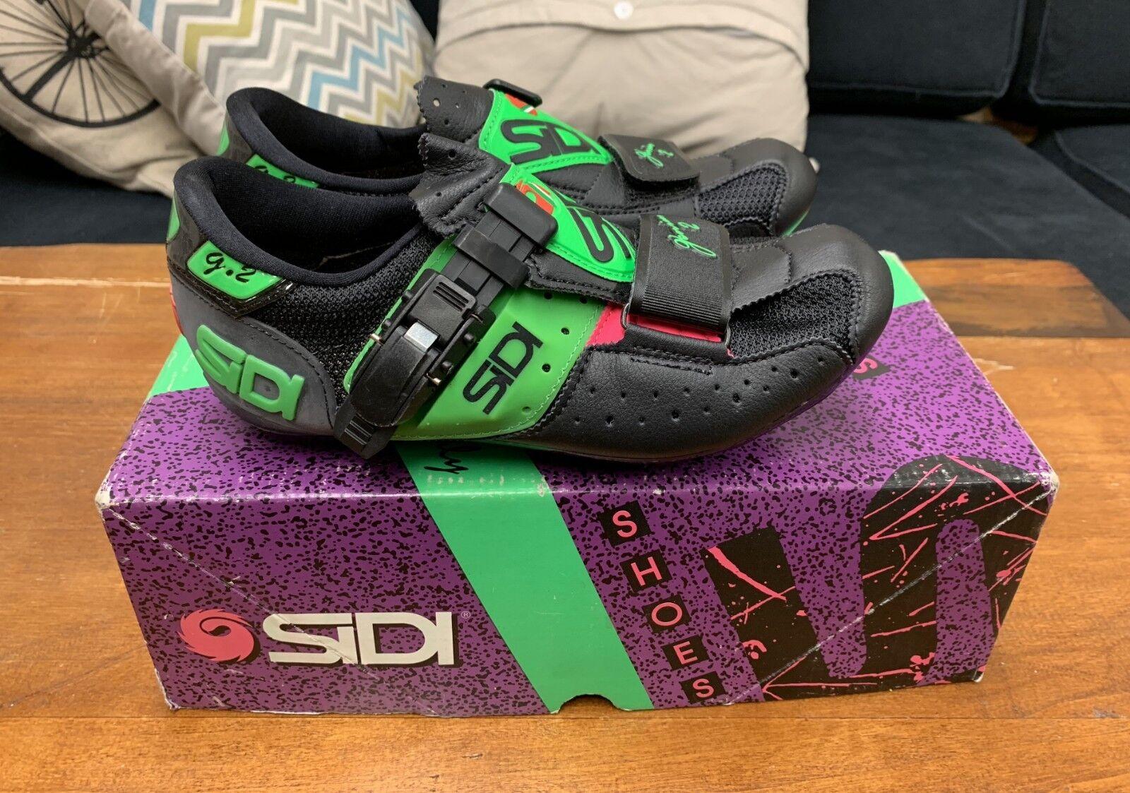 Vintage Sidi shoes Genius 2 Road Cycling shoes NOS