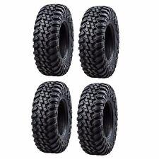 4-Tusk Terrabite Radial 8 Ply UTV Tire Set (4 Tires) 2-27x9-12 and 2-27x11-12