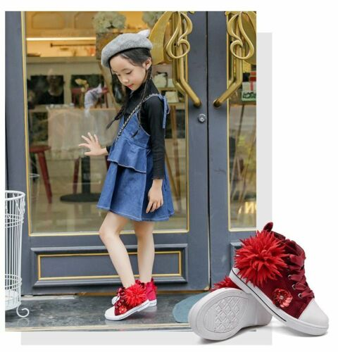 Girls Floral Sneakers Shoes Fashion Casual Girls Princess Girls Casual Shoes