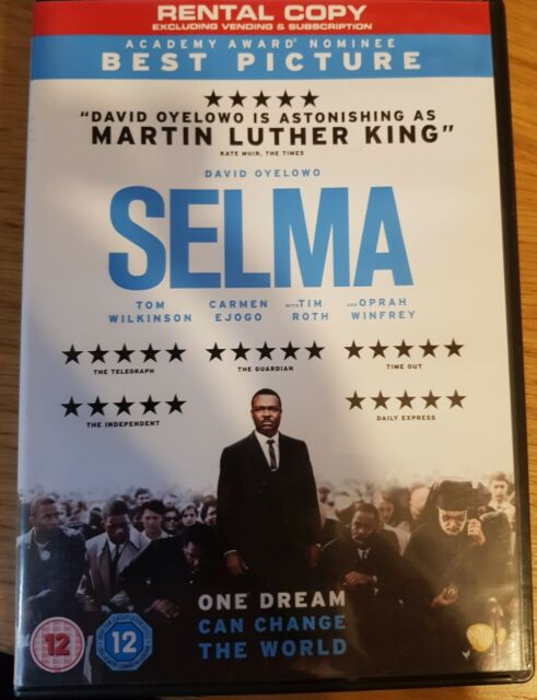 Selma DVD (2015) David Oyelowo, DuVernay (DIR) cert 12 FREE Shipping, Save £s