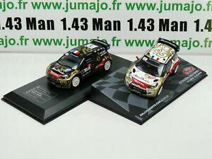 LOT-2X-1-43-IXO-Rallye-CITROEN-DS3-WRC-LOEB-Alsace-2013-Monte-carlo-2013