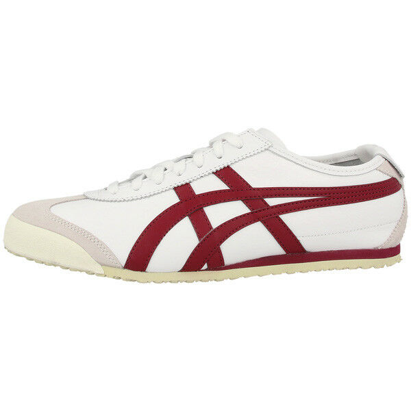 Chaussures Tiger 66 Blanc R Bourgogne Onitsuka Asics Mexico D4j2l awIqU5ZHxn