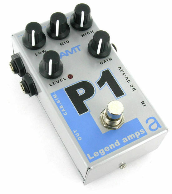 AMT Electronics P1 Guitar Overdrive Distortion Pedal