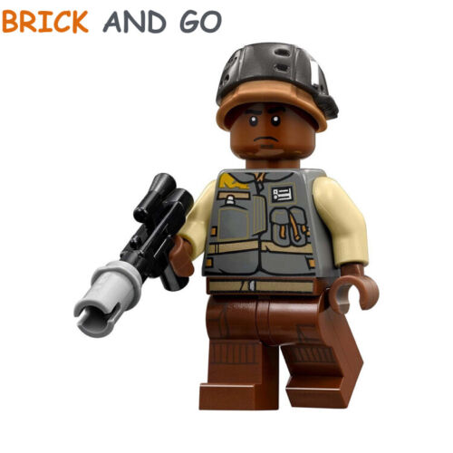 LEGO Minifigure Star Wars SW784 Rebel Trooper Lieutenant Sefla Blaster NEW