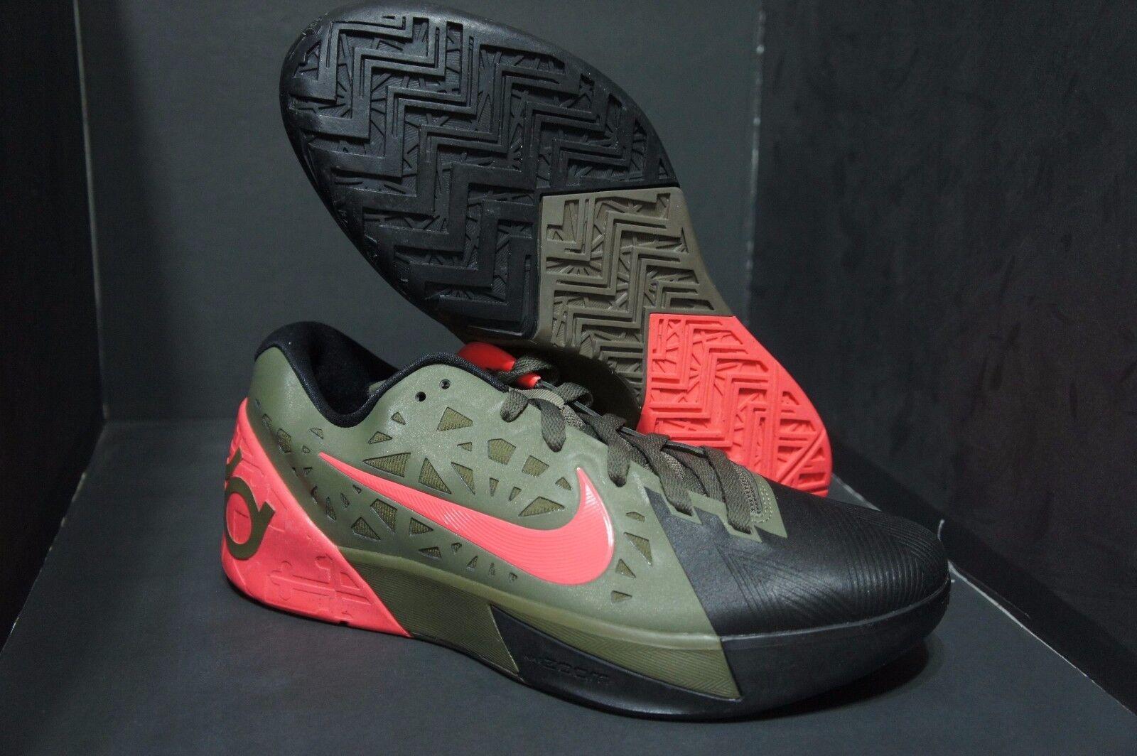 Nike KD Trey 5 II Medium Olive/Atomic Red Size 9.5 Promo Sample