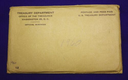 "10 coins Both /""P/"" /& /""D/"" Mint Set Complete and original 1960 Official U.S"