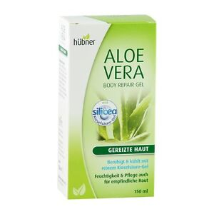 aloe vera gel h bner body repair gel reines kiesels ure gel vegan ebay. Black Bedroom Furniture Sets. Home Design Ideas