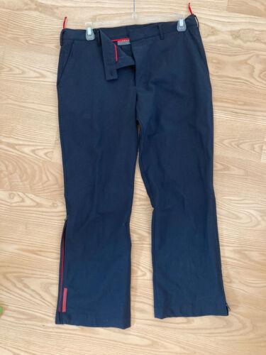 Prada Mens Navy Utility Sport Pants XL/2XL