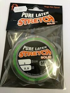 frenzee-stretch-solid-latex-elastic-0-9-mt6-elastic-GREEN