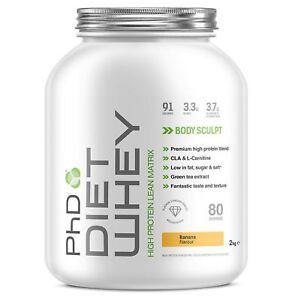 diet whey protein powder