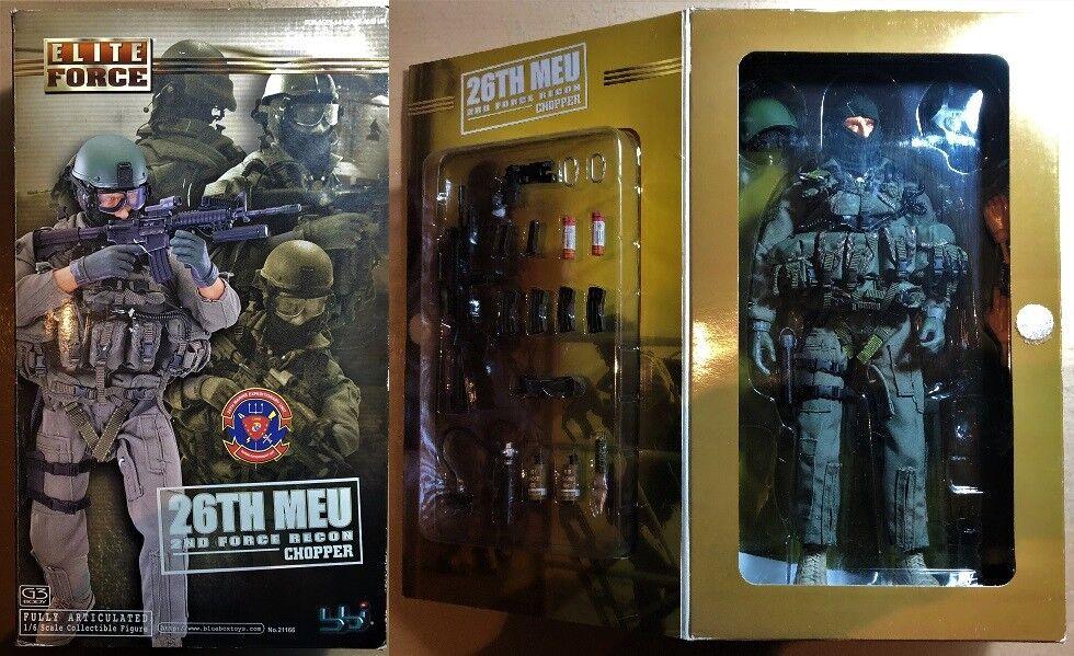 BBI blue BOX 21166 - ELITE FORCE 26th Mnd FORCE RECON CHOPPER - 1 6
