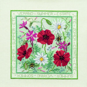 Derwentwater designs quatre saisons cross stitch kit-summer-afficher le titre d`origine nBu31Q4t-07210411-250309815