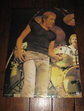 ROGER DALTREY ~ The Who ~ Rare VINTAGE Dutch ~ Poster RO 044!