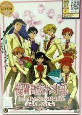 DVD Anime Ouran High School Host Club 1-26 Box Set Eng Sub