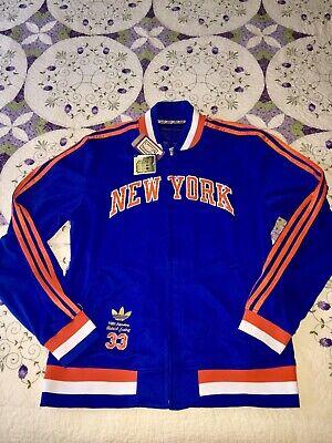 Seltene Vintage Adidas NEW YORK KNICKS Patrick Ewing legendäre Jacke BRANDNEU | eBay