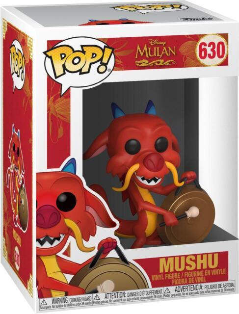 Mushu w/ Gong Mulan #630 Funko Pop! Figurine