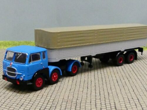 1//87 Brekina Fiat 690 T Pr//Pl Sattelzug blau//grau 58501