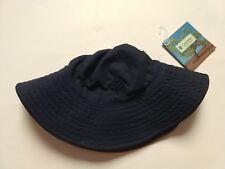 44e50f262d7 item 4 NWT Coolibar Boy Girl Reversible Bucket Hat UPF 50+ Navy Dark Khaki  Sz S M (4-8) -NWT Coolibar Boy Girl Reversible Bucket Hat UPF 50+ Navy Dark  Khaki ...