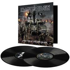 Iron Maiden - A Matter of Life and Death - New Double 180g Vinyl LP -23/6