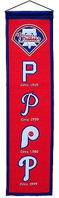 Mlb Baseball Philadelphia Phillies Heritage Banner Großer Wimpel Pennant Wolle Hochglanzpoliert Weitere Ballsportarten Baseball & Softball
