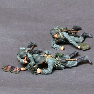1//35 Resin WWII Wounded Dead German Soldiers Unpainted Unassembled QJ066