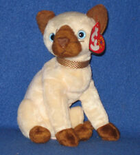 TY SIAM the SIAMESE CAT BEANIE BABY - MINT TAG - PLEASE READ
