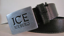 man's belt leather / Italy / ICEBERG