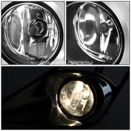 FOR 13-16 SCION FRS//FT86//GT86 CLEAR LENS OE DRIVING PAIR FOG LIGHT LAMP+SWITCH