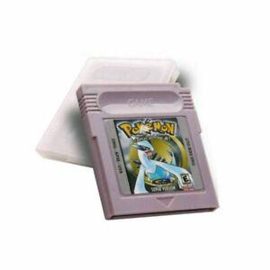 Pokemon-GBC-Game-Card-Cart-Silver-Version-For-Nintendo-Game-Boy-Color-Cartridge