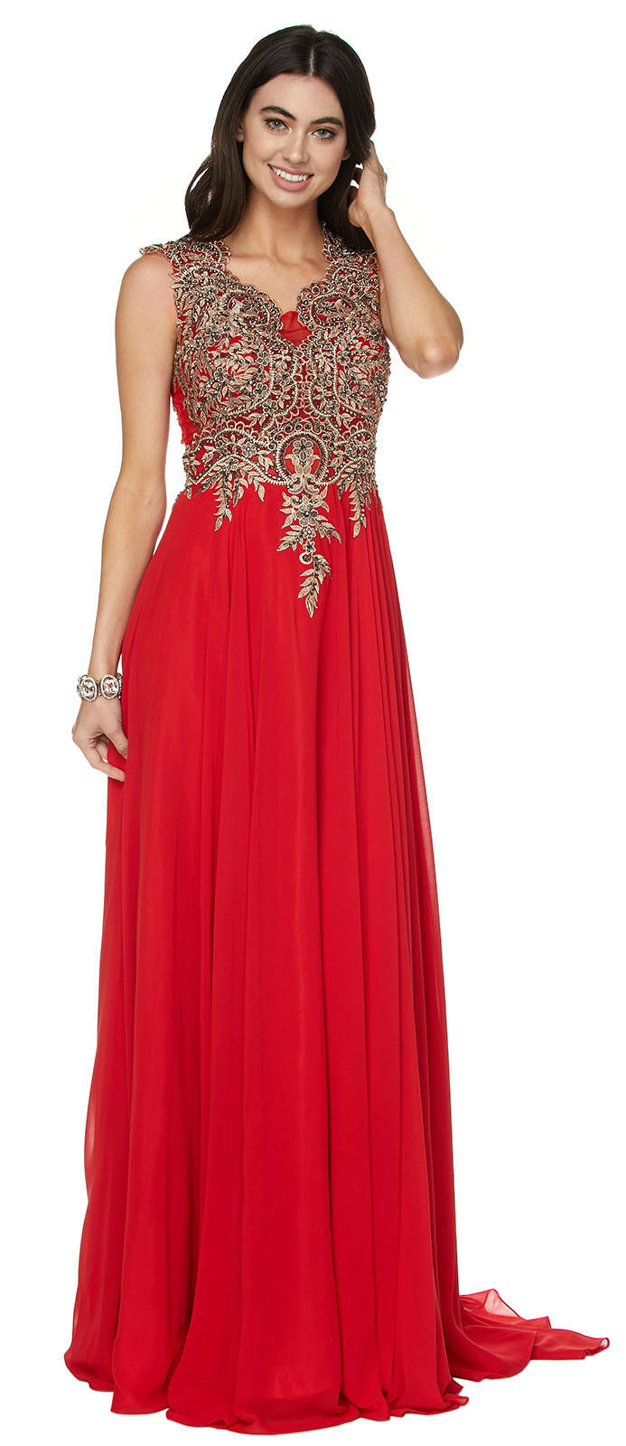 PROM FORMAL GOWN SPECIAL OCCASION DESIGNER DANCE PARTY EVENING DRESS RED CARPET