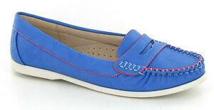 Ausverkauf Damen Spot On Blaue Sandale Schuhe UK Größen 36 - 8 F8974