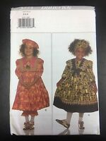 Butterick 3771 Children's Dress, Pantaloons, Headwrap & Beret - Multiple Sizes