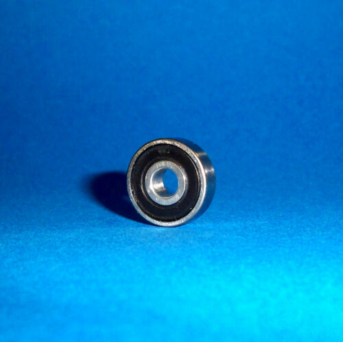 8 x 22 x 7 mm Edelstahl rostfrei 4 Kugellager SS 608 2RS