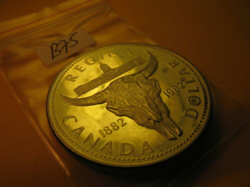 Canada 1982 Silver Dollar Coin 100 Years Of City Of Regina ID#B75.