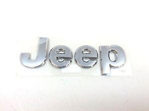 2011-2018 Jeep Grand Cherokee Chrome Hood Jeep Emblem Nameplate