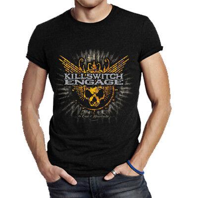 Killswitch Engage Rock Band T-Shirt Tee Men/'s Fullprint Tshirt