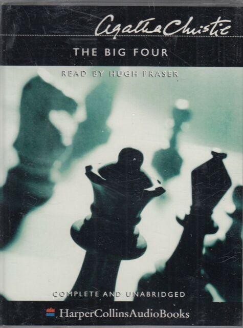 The Big Four Agatha Christie 4 Cassette Audio Book Poirot Unabridged Thriller