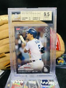 Corey Seager  RC 2016 Night Fuels HOF 💎  Mint 🌈 BGS 9.5 Dodgers 💰Invest