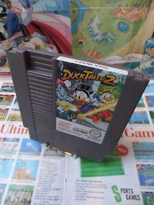 Nintendo-NES-Duck-Tales-2-TOP-CAPCOM-amp-1ERE-EDITION-SEUL-Fr