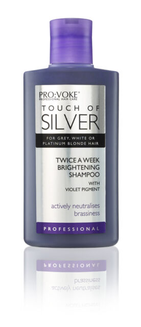 Touch Of Silver Brightening Hair Shampoo 150ml For Blonde White Hair  Pro Voke