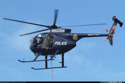 Decals MD 500D Honolulu Police N5000N