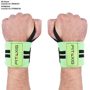 Training Straps Fitness Power Weight Lifting Wrist Wraps Gym Band