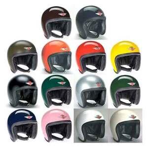 Davida-Ninety-deux-92-OUVERT-casque-moto-Uni-toutes-les-couleurs-amp-tailles