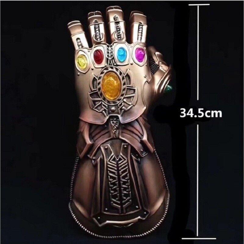 Thanos unendlichkeit spießrutenlauf marvel - legenden thanos handschuhe avengers 2018 cosplay neue