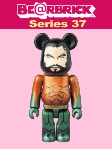 Medicom 100/% Be@rbrick Series 37 Hero In Stock S37 Bearbrick Aquaman