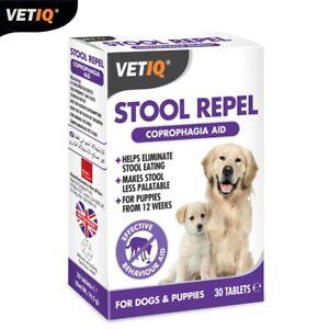 VetIQ-Stool-Repel-Coprophagia-amp-Behaviour-Aide-Pour-Stop-Poo-Eating-30tabs