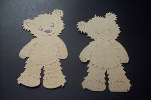 /& DIE CUT KITS 10 JESSII or EMMII BEAR  DIE CUTS SEE VARIATIONS /& LISTINGS